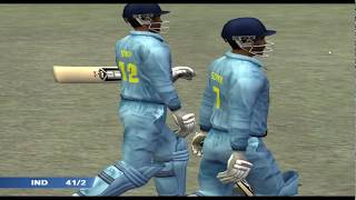 EA Sports Cricket 2007 PC Gameplay (India vs. Sri Lanka).