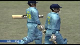 EA Sports Cricket 2007 PC Gameplay (India vs. Sri Lanka).