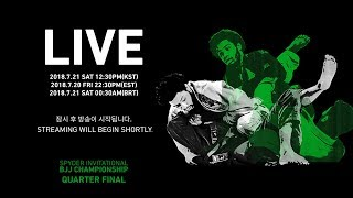2018 SPYDER INVITATIONAL BJJ CHAMPIONSHIP QUARTER FINAL Live