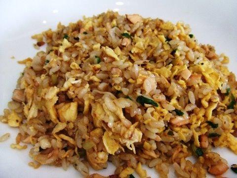 Smoked Salmon Fried Rice Recipe  スモークサーモンの炒飯のレシピ