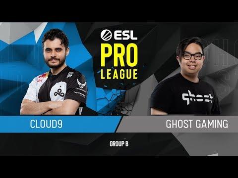 CS:GO - Cloud9 vs. Ghost [Dust2] Map 3 - Group B - ESL Pro League Season 9 Americas