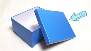 как сделать крышку для коробки из картона своими руками