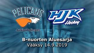La 14.9.2019 Pelicans B1 Team - HJK Akatemia