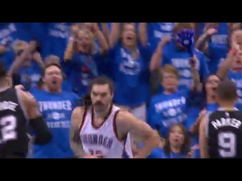 Andre Roberson and Steven Adams Step Up For The Thunder