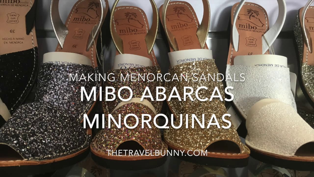 462d92af0 Making Menorcan Sandals at Mibo - YouTube