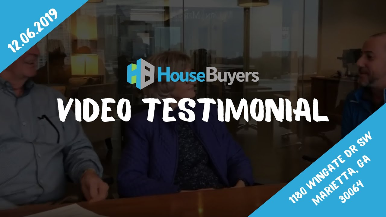 House Buyers | Seller Video Testimonial | 12.06.2019 | Atlanta, GA