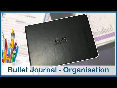 [Organisation] Nouveau Bullet Journal horizontal ! 📓 😍