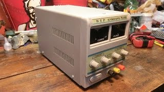 How It Failed: 80$ 30V 5A Variable DC Power Supply