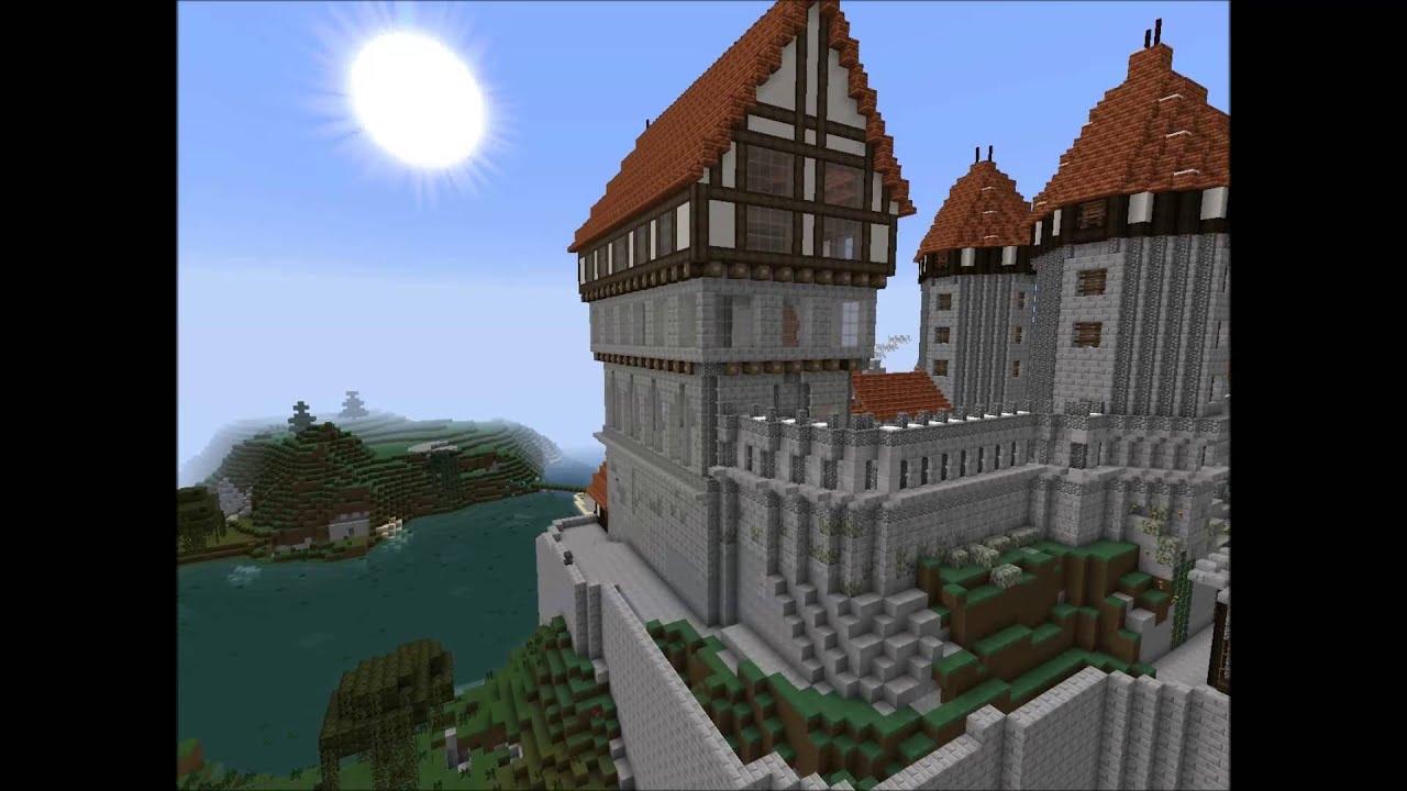 Minecraft pr sentation de mon chateau youtube - Chateau de minecraft ...