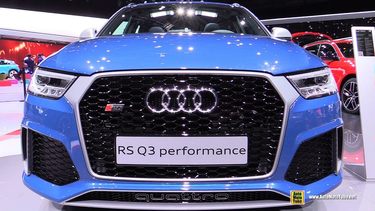 2016 audi rs q3 performance exterior and interior. Black Bedroom Furniture Sets. Home Design Ideas