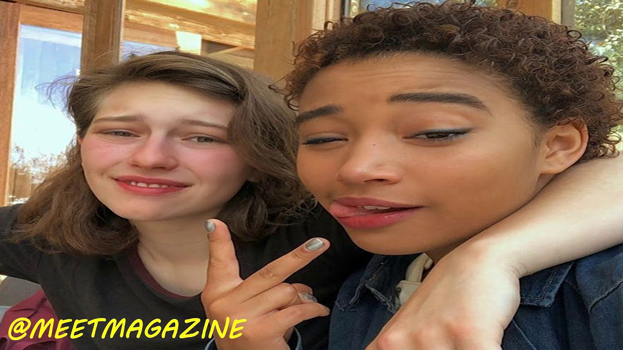 Amandla Stenberg has a girlfriend? Just friends or is she ...