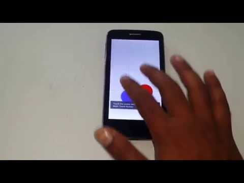 Micromax Canvas Juice A177 Multitouch Test