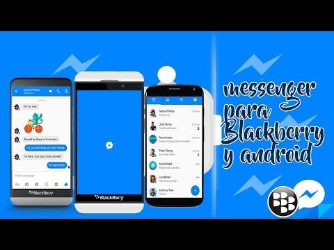 El Nuevo Facebook Messenger Para Blackberry Y Android