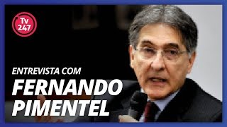 TV 247 ENTREVISTA FERNANDO PIMENTEL(20/3/18) - Governador de Minas Gerais