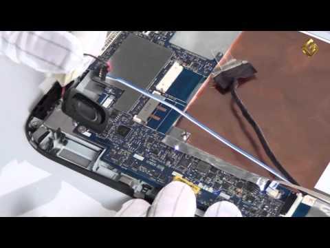 Lenovo IdeaPad Tablet K1 - как разобрать планшет, из чего состоит