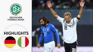 Klinsmann, Toni, Totti & Co. zaubern | Deutschland - Italien 3:3 | Highlights | Spiel der Legenden