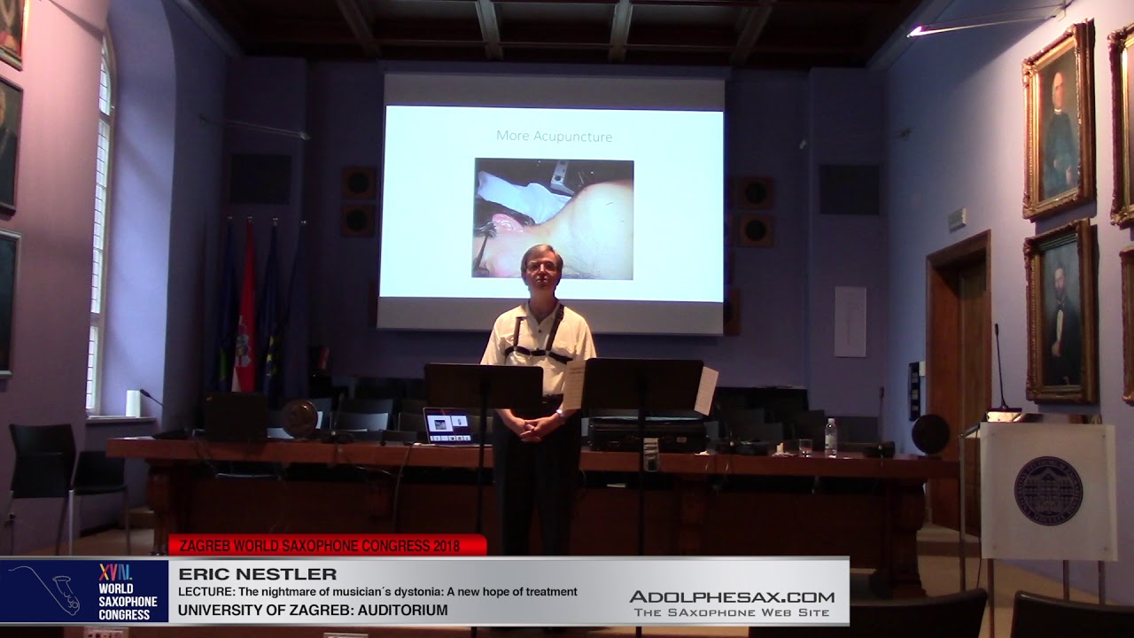 LECTURE: The nightmare of musician´s dystonia: a new hope of treatment    Erik Nestler   XVIII World