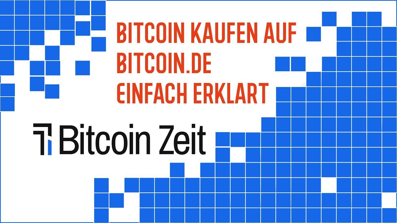 Bitcoin Einfach Kaufen
