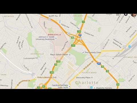 Biddleville Homes For Sale Near Uptown Charlotte Nc Johnson C Smith University Youtube