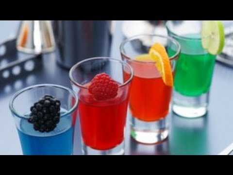 Shots de Gelatina y Vodka