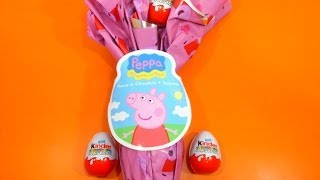 Play Doh Surprise Eggs Peppa Pig Frozen Mickey Mouse Spiderman Minnie Masha Disney Huevos Sorpresa[1]