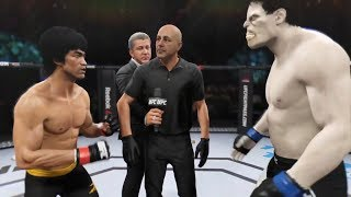 Download Bruce Lee vs. Grey Hulk (EA Sports UFC 2) Mp3 and Videos