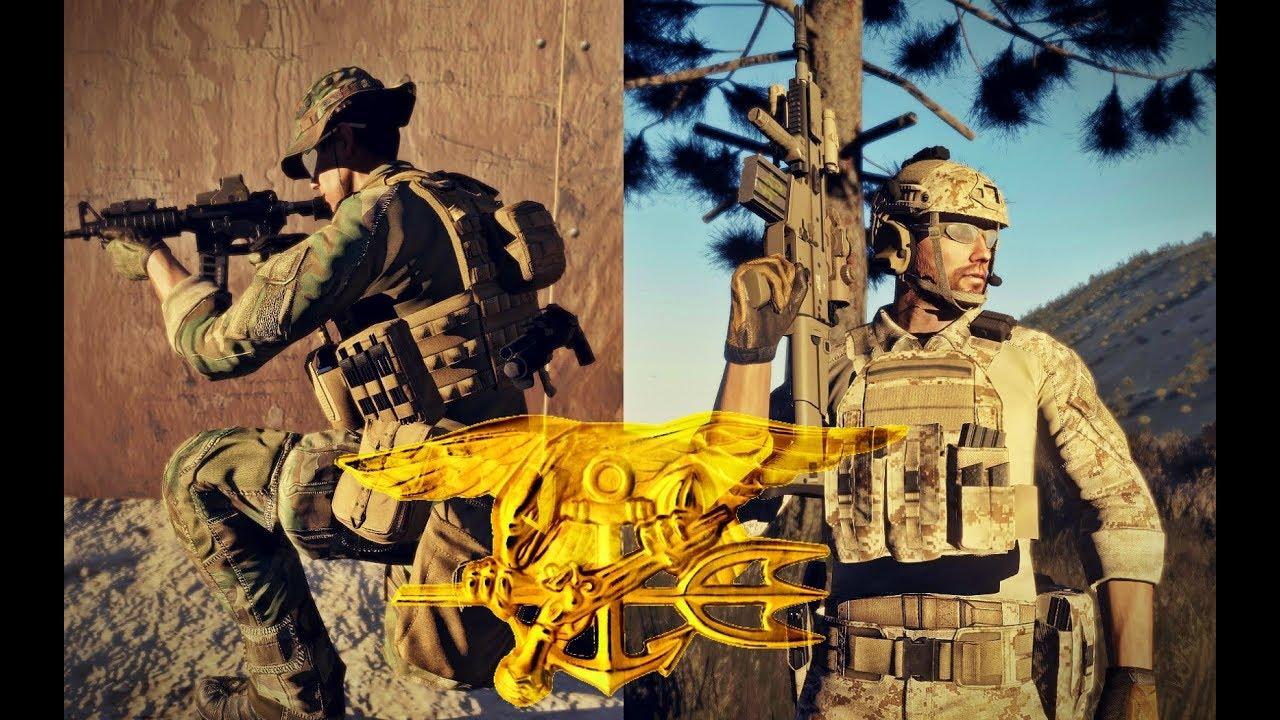 U S  Navy SEAL Cinematic Training to Combat (Arma 3 Machinima)