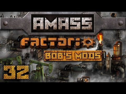 Trench Warfare [32] AMASS Factorio 0 12 3 with Bob's Mods