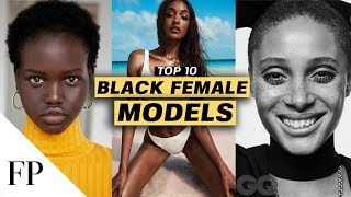 Famous African American Models