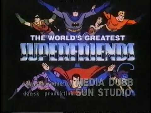 Superhjältarna (Worlds Greatest Super Friends) MEDIA DUBB TV3 - (Svenska/Swedish)