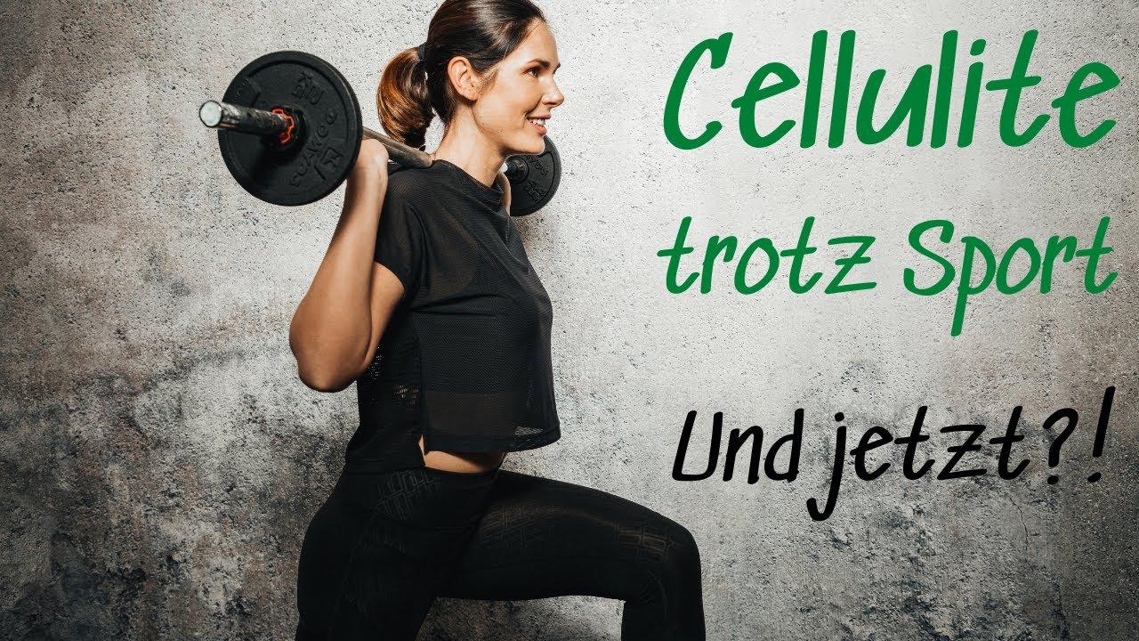 Cellulite trotz Sport - Warum ist das so und was kannst du