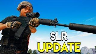 SLR UPDATE - PUBG (PlayerUnknown's Battlegrounds)