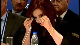 Discurso de la presidenta Cristina Fernández de Kirchner en Cannes