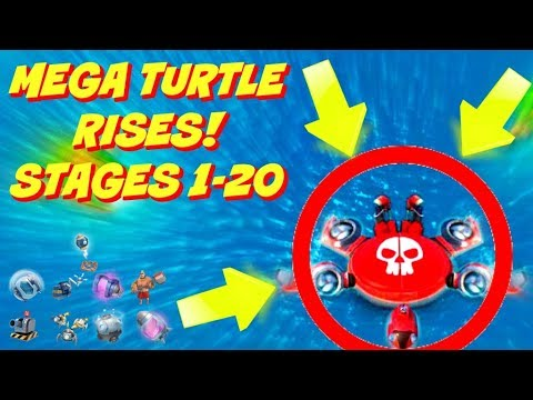 MEGA TURTLE RISES! STAGES 1-20 :: GLOBAL LEADERBOARD PUSH :: BOOM BEACH NEW EVENT UPDATE!