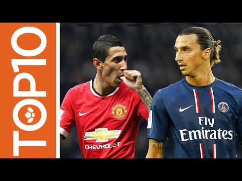 Top 10 Most Expensive Players Ever! (Cumulatively)