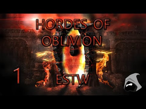 Ep1 OBLIVION RAMPAGE - The Elder Scrolls Total War The Obliv
