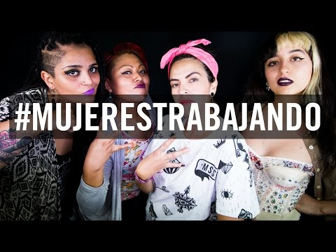 #MUJERESTRABAJANDO Mujeres hiphoperas