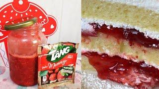Como Fazer Geléia de Morango com Suco Tang
