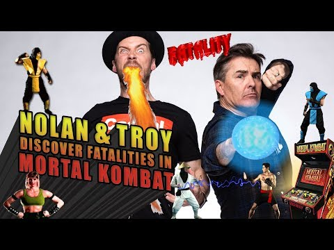 Nolan North and Troy Baker Discover Fatalities in Mortal Kombat