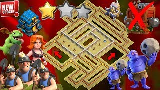 NEW TH12 WAR BASE 2018 Anti 2 Star With Replay Anti BoWitch,Miner,Seige Machine,Queen Walk,Hog PROOF