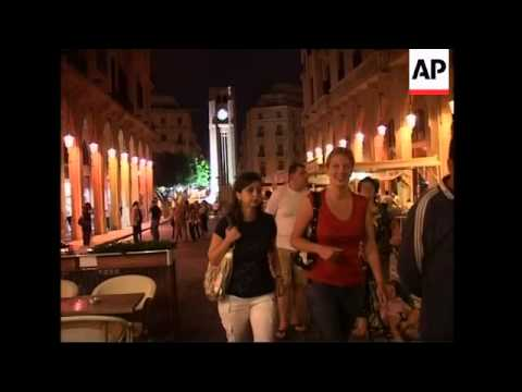 Nightlife returns to downtown Beirut after Hezbollah lift blockade