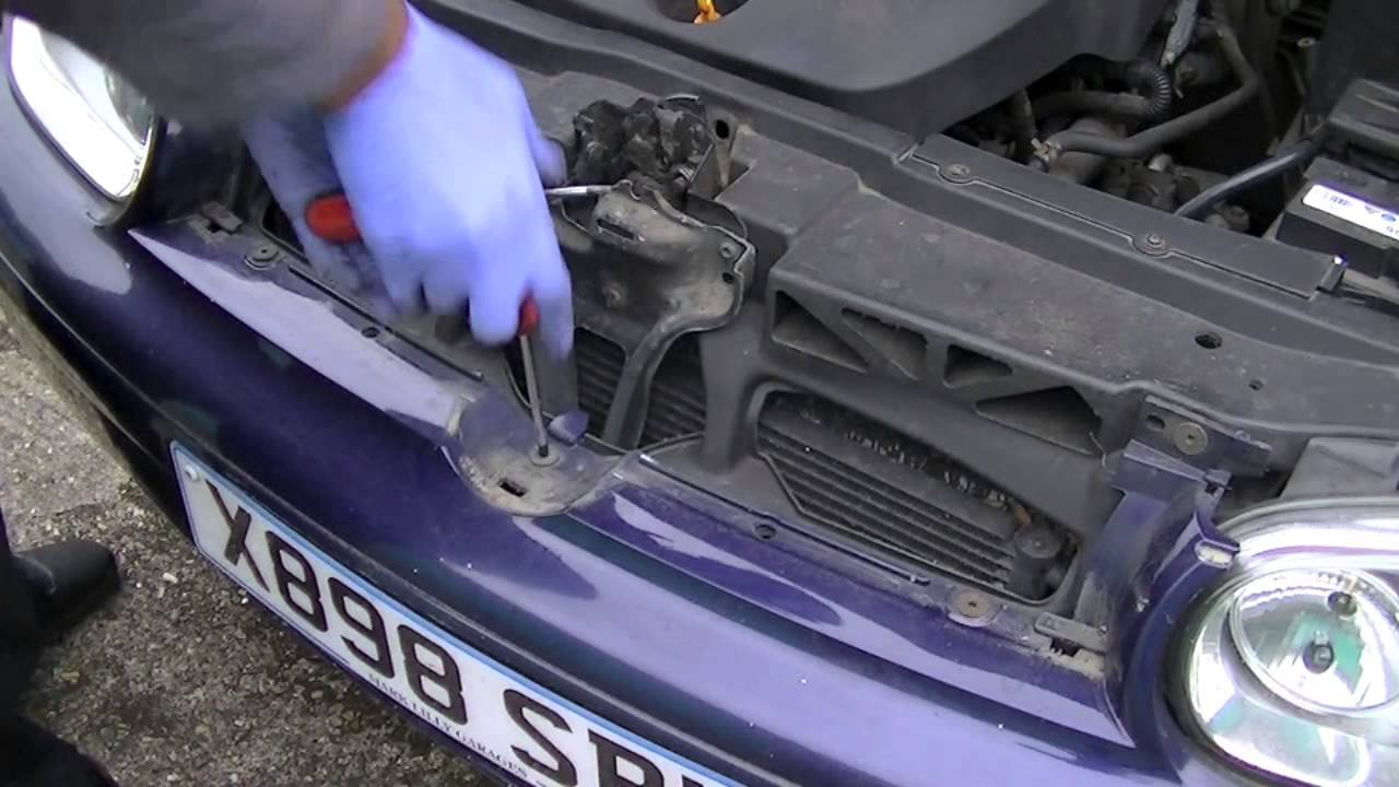 Vw Golf Front Bumper Removal 1998 2004 Simple Easy Steps Youtube
