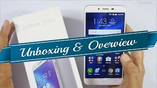Asus Zenfone 3 Max (Snapdragon 430) Unboxing & Overview