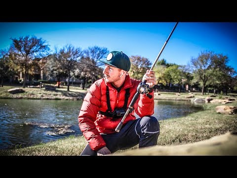 Bass Fishing In Ponds Across Frisco & Plano Texas!!