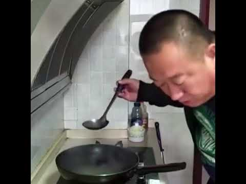 Salt testing at cooking time // funny video // FUNNY.SIWAN //