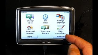 Tutorial on how to operate and USE a TomTom XL XXL GPS Navigation With Firmware V 9.101