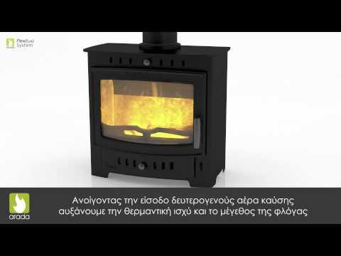 Τεχνολογία Arada: Σόμπες Ξύλου & Στερεών Καυσίμων
