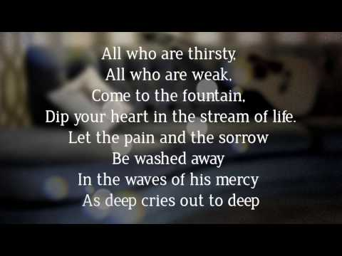 All Who Are Thirsty - Lyric Video (Taken from Small Group Worship Vol. 1)