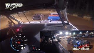 #10 Jordon Benefield - Bomber - 3-31-18 West Ga Speedway - In Car Camera