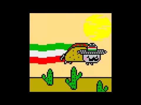 Taco-Cat(Mexican Nyan Cat) 10 Hours